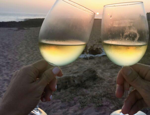 Playa de Zahora, Amarna, puesta de sol, actividades playa escapada